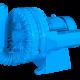 Compressor radial duplo estágio