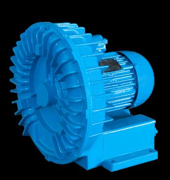 Os compressores radiais são artefatos utilizados para realizar a captação, a pressão e a vazão do ar prescrito para cada execução. Ainda, o compressor radial é fabricado em alumínio fundido, o que auxilia na precisão do item.
