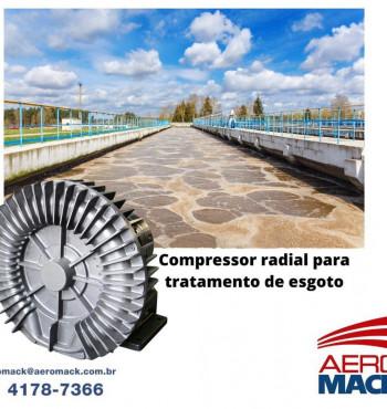 O compressor radial é um item fabricado com alumínio fundido capaz de fazer a sucção, a vazão e o sopro de ar comprimido com precisão. Ainda, os compressores radiais são equipamentos extremamente versáteis e aplicados em diferentes segmentos do mercado.
